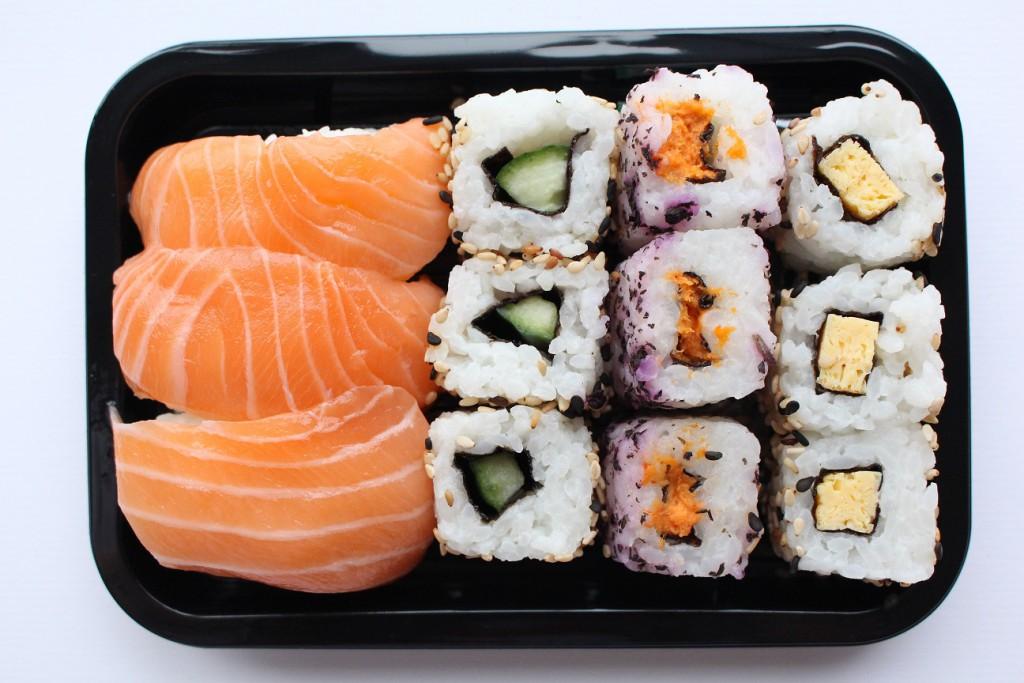 FOOD | sushi sakemaki van Albert Heijn