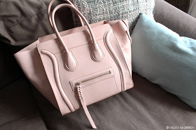 CÉLINE PHANTOM LUGGAGE LOOKALIKE ROZE | BAGS