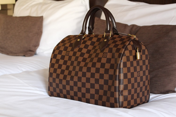 LOUIS VUITTON SPEEDY 30 DAMIER EBENE | BAGS