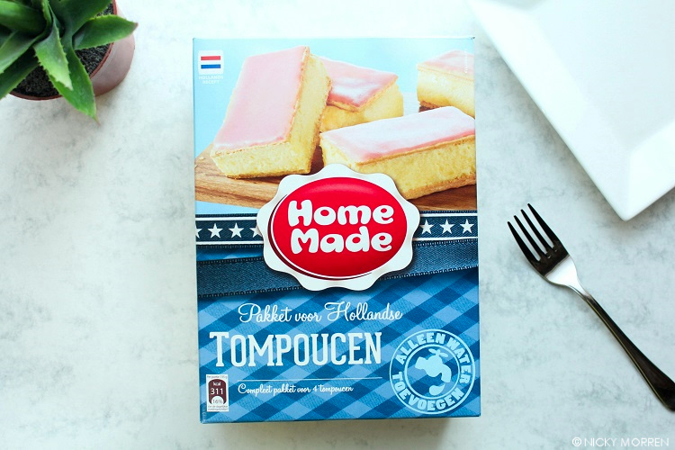 HOMEMADE PAKKET VOOR HOLLANDSE TOMPOUCEN | FOODREVIEW
